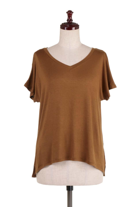 L.A.直輸入のClassicDolmanSleeveV-neckTeeドルマンスリーブ・VネックTシャツ大人カジュアルに最適な海外ファッションのothers(その他インポートアイテム)のトップスやTシャツ。シンプルなドルマンスリーブのVネックTシャツ。レーヨンのテロテロ感がとても気持ち良いトップスです。/main-20