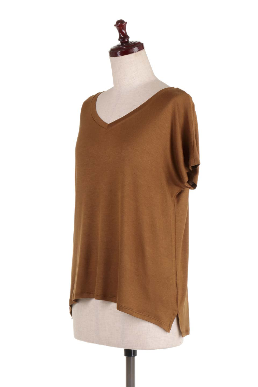 L.A.直輸入のClassicDolmanSleeveV-neckTeeドルマンスリーブ・VネックTシャツ大人カジュアルに最適な海外ファッションのothers(その他インポートアイテム)のトップスやTシャツ。シンプルなドルマンスリーブのVネックTシャツ。レーヨンのテロテロ感がとても気持ち良いトップスです。/main-21