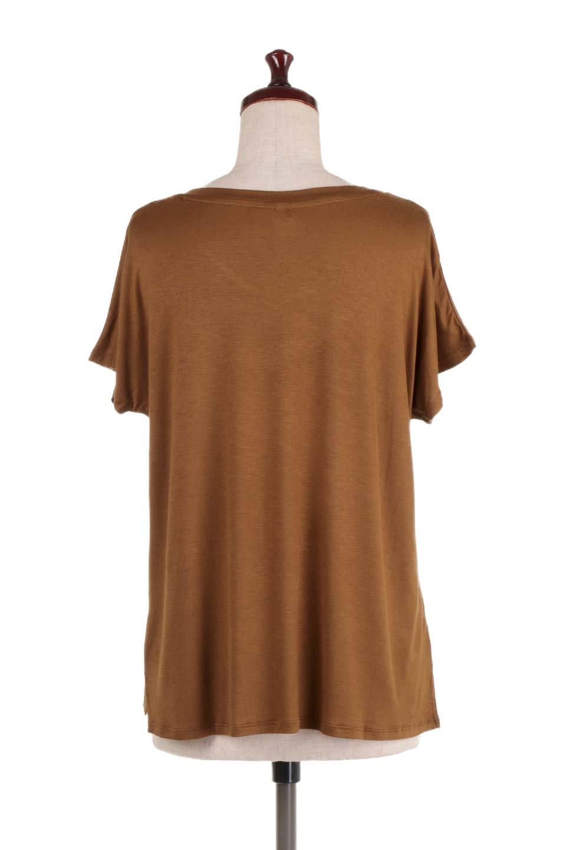 L.A.直輸入のClassicDolmanSleeveV-neckTeeドルマンスリーブ・VネックTシャツ大人カジュアルに最適な海外ファッションのothers(その他インポートアイテム)のトップスやTシャツ。シンプルなドルマンスリーブのVネックTシャツ。レーヨンのテロテロ感がとても気持ち良いトップスです。/main-24