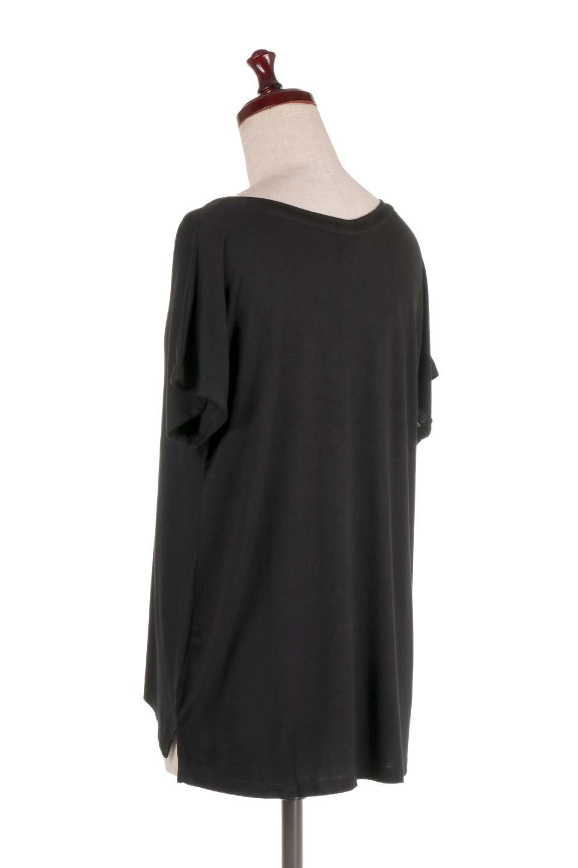 L.A.直輸入のClassicDolmanSleeveV-neckTeeドルマンスリーブ・VネックTシャツ大人カジュアルに最適な海外ファッションのothers(その他インポートアイテム)のトップスやTシャツ。シンプルなドルマンスリーブのVネックTシャツ。レーヨンのテロテロ感がとても気持ち良いトップスです。/main-28