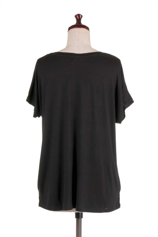 L.A.直輸入のClassicDolmanSleeveV-neckTeeドルマンスリーブ・VネックTシャツ大人カジュアルに最適な海外ファッションのothers(その他インポートアイテム)のトップスやTシャツ。シンプルなドルマンスリーブのVネックTシャツ。レーヨンのテロテロ感がとても気持ち良いトップスです。/main-29