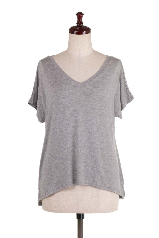 L.A.直輸入のClassicDolmanSleeveV-neckTeeドルマンスリーブ・VネックTシャツ大人カジュアルに最適な海外ファッションのothers(その他インポートアイテム)のトップスやTシャツ。シンプルなドルマンスリーブのVネックTシャツ。レーヨンのテロテロ感がとても気持ち良いトップスです。/main-5