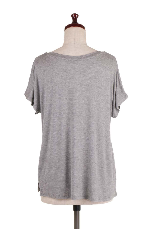 L.A.直輸入のClassicDolmanSleeveV-neckTeeドルマンスリーブ・VネックTシャツ大人カジュアルに最適な海外ファッションのothers(その他インポートアイテム)のトップスやTシャツ。シンプルなドルマンスリーブのVネックTシャツ。レーヨンのテロテロ感がとても気持ち良いトップスです。/main-9