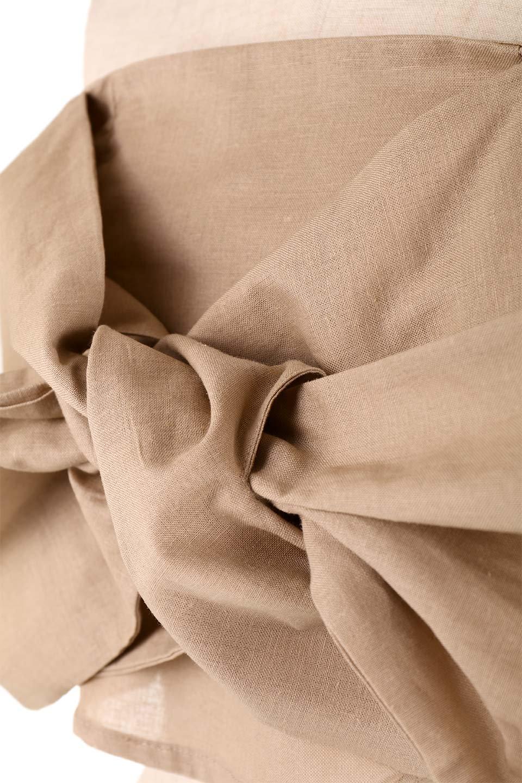 BigRibbonBestieビッグリボンビスチェ大人カジュアルに最適な海外ファッションのothers(その他インポートアイテム)のトップスやカットソー。大きなリボンモチーフが目を引く麻混のビスチェ。シンプルなトップスと相性の良いビスチェ。/main-24