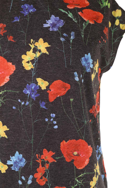 StandNeckFlowerTopスタンドカラー花柄トップス大人カジュアルに最適な海外ファッションのothers(その他インポートアイテム)のトップスやカットソー。可愛らしい花柄のノースリーブトップス。水彩画のような花のプリントにウォッシュ加工が施され、カジュアルな雰囲気です。/main-19