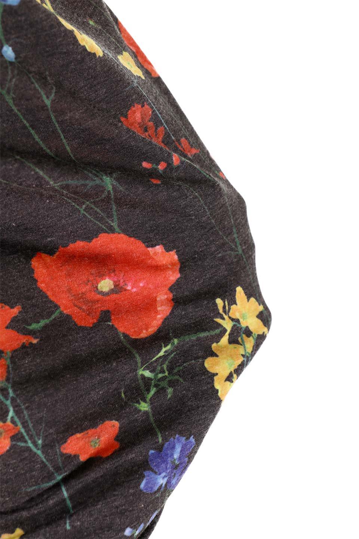 StandNeckFlowerTopスタンドカラー花柄トップス大人カジュアルに最適な海外ファッションのothers(その他インポートアイテム)のトップスやカットソー。可愛らしい花柄のノースリーブトップス。水彩画のような花のプリントにウォッシュ加工が施され、カジュアルな雰囲気です。/main-21