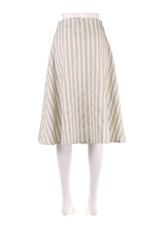 Multi-ColorStripedDobbySkirtマルチカラーストライプ・ミディ丈スカート大人カジュアルに最適な海外ファッションのothers(その他インポートアイテム)のボトムやスカート。爽やかなストライプが綺麗なMidi丈スカート。重くなりがちな丈の長さですが、細身のストライプですっきり着こなせます。/main-14