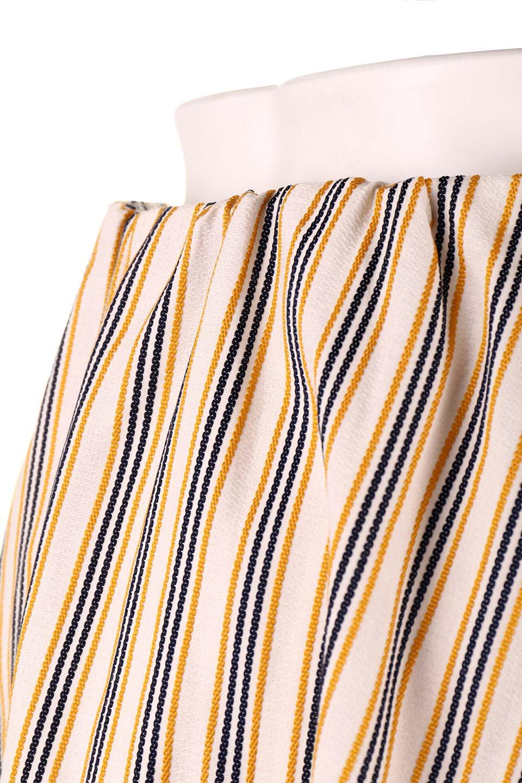 Multi-ColorStripedDobbySkirtマルチカラーストライプ・ミディ丈スカート大人カジュアルに最適な海外ファッションのothers(その他インポートアイテム)のボトムやスカート。爽やかなストライプが綺麗なMidi丈スカート。重くなりがちな丈の長さですが、細身のストライプですっきり着こなせます。/main-17