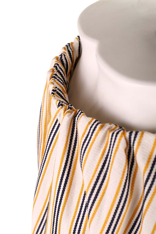 Multi-ColorStripedDobbySkirtマルチカラーストライプ・ミディ丈スカート大人カジュアルに最適な海外ファッションのothers(その他インポートアイテム)のボトムやスカート。爽やかなストライプが綺麗なMidi丈スカート。重くなりがちな丈の長さですが、細身のストライプですっきり着こなせます。/main-18