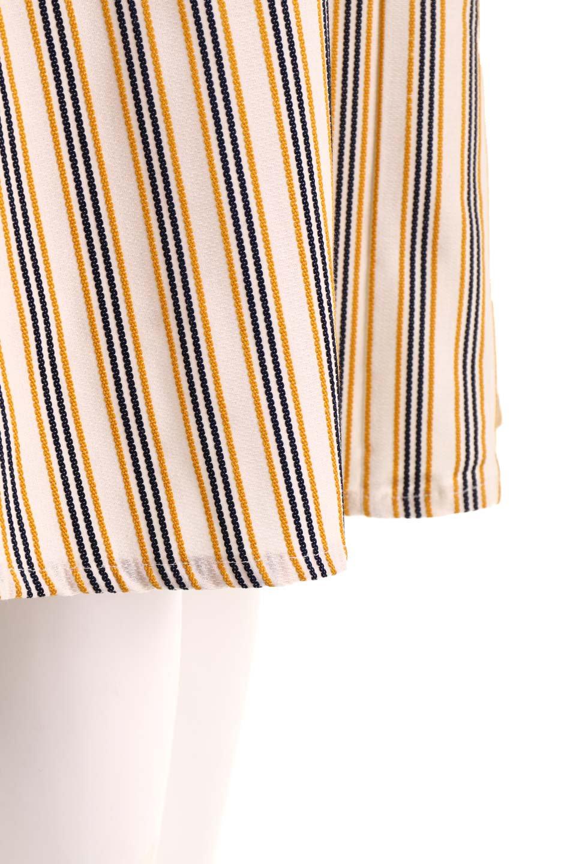 Multi-ColorStripedDobbySkirtマルチカラーストライプ・ミディ丈スカート大人カジュアルに最適な海外ファッションのothers(その他インポートアイテム)のボトムやスカート。爽やかなストライプが綺麗なMidi丈スカート。重くなりがちな丈の長さですが、細身のストライプですっきり着こなせます。/main-21