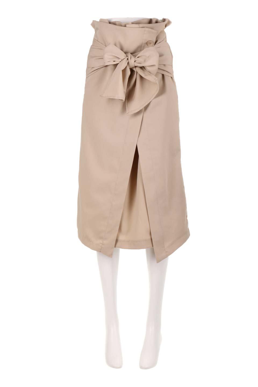 RibbonTiedAsymmetricalSkirtアシメントリー・リボンスカート大人カジュアルに最適な海外ファッションのothers(その他インポートアイテム)のボトムやスカート。フロントの大きなリボンがアクセントのアシメントリースカート。タイト目のスカートを両サイドから包み込むようなデザインです。/main-10