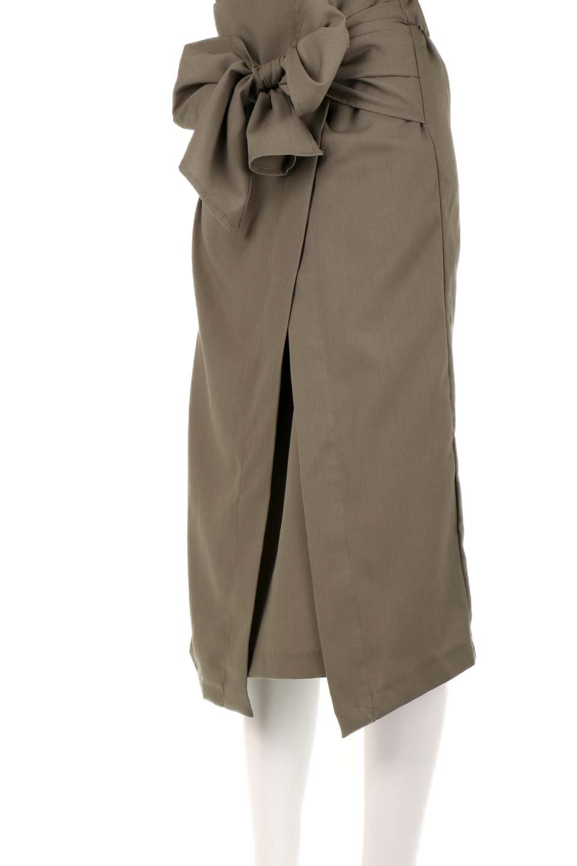 RibbonTiedAsymmetricalSkirtアシメントリー・リボンスカート大人カジュアルに最適な海外ファッションのothers(その他インポートアイテム)のボトムやスカート。フロントの大きなリボンがアクセントのアシメントリースカート。タイト目のスカートを両サイドから包み込むようなデザインです。/main-20
