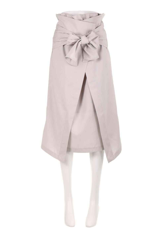 RibbonTiedAsymmetricalSkirtアシメントリー・リボンスカート大人カジュアルに最適な海外ファッションのothers(その他インポートアイテム)のボトムやスカート。フロントの大きなリボンがアクセントのアシメントリースカート。タイト目のスカートを両サイドから包み込むようなデザインです。/main-5