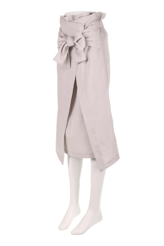 RibbonTiedAsymmetricalSkirtアシメントリー・リボンスカート大人カジュアルに最適な海外ファッションのothers(その他インポートアイテム)のボトムやスカート。フロントの大きなリボンがアクセントのアシメントリースカート。タイト目のスカートを両サイドから包み込むようなデザインです。/main-6