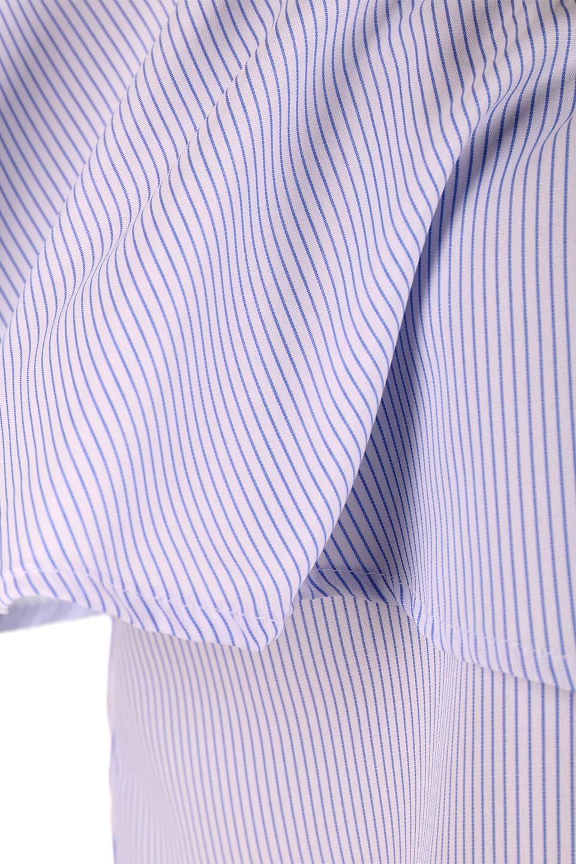 AsymmetricalOneShoulderStripedBlouseアシメントリー・ワンショルダーブラウス大人カジュアルに最適な海外ファッションのothers(その他インポートアイテム)のトップスやシャツ・ブラウス。アシメントリーデザインが可愛いストラップ付ワンショルダーブラウス。大き目のフリルがうまく二の腕を隠してくれる嬉しいアイテムです。/main-21