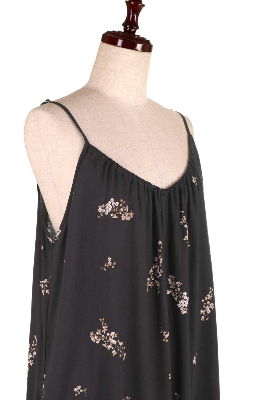 LOVESTITCHのCameliaJumpsuitクロップド・ガウチョジャンプスーツ/海外ファッションが好きな大人カジュアルのためのLOVESTITCH(ラブステッチ)のボトムやロンパース類。落ち着いたイメージのシックな花柄キャミジャンプスーツ。控えめな単色の花柄のモノトーンで大人のリラックスコーデに最適。/main-11