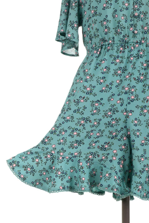ANGIEのSmallFlowerOpenBackRompers小花柄オープンバックロンパース/ANGIE(アンジー)のボトムやロンパース類。小花柄が可愛いショート丈のロンパース。可愛い柄とは対照的に大胆に開いた背中のデザインもポイント。/main-15