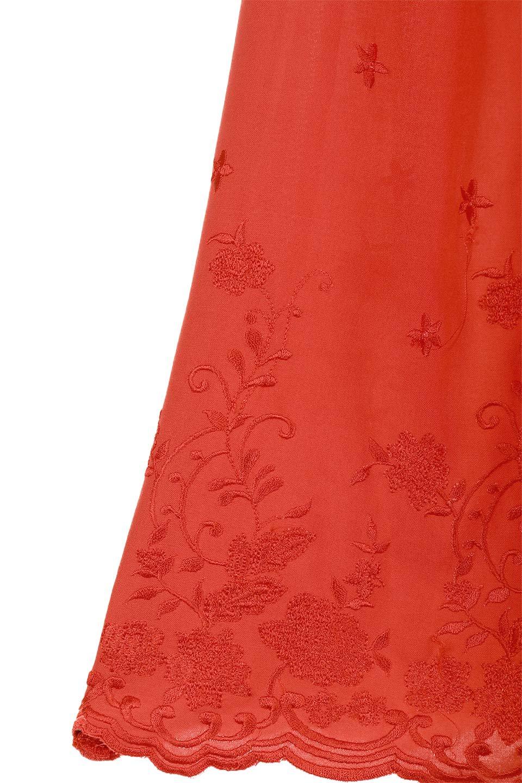 ANGIEのFloralEmbroideredKidsDress花柄刺繍・子供用ワンピース/ANGIE(アンジー)のワンピースやミニワンピース。大人用顔負けの刺繍をあしらったキッズワンピース。単色のワンピースのようですが、ツヤ感のある糸で刺繍されているので上品な高級感があります、首回りなすべてゴムなので、オフショルダーとして着ればちょっとだけお姉さんになれるワンピースです透け感 : ★☆☆☆☆ (?)★☆☆☆☆>さほど気になりません★★☆☆☆>光の具合で少し透けます★★★☆☆>気になる方はインナーを★★★★☆>インナー着用をおすすめ★★★★★>インナーが必要です素材レーヨン 100%サイズ首回り身幅袖丈着丈S22-44381855M25-41411956L28-43452058XL31-45482260※ トルソー着用画像はMサイズです。/main-13