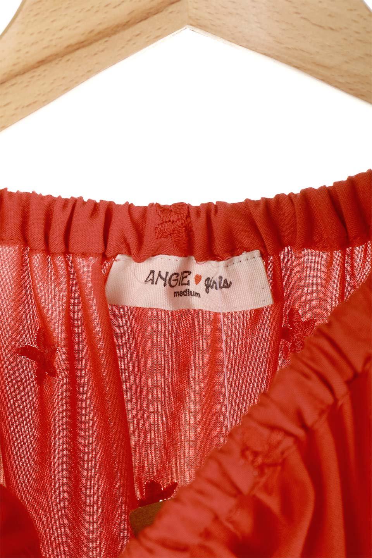 ANGIEのFloralEmbroideredKidsDress花柄刺繍・子供用ワンピース/ANGIE(アンジー)のワンピースやミニワンピース。大人用顔負けの刺繍をあしらったキッズワンピース。単色のワンピースのようですが、ツヤ感のある糸で刺繍されているので上品な高級感があります、首回りなすべてゴムなので、オフショルダーとして着ればちょっとだけお姉さんになれるワンピースです透け感 : ★☆☆☆☆ (?)★☆☆☆☆>さほど気になりません★★☆☆☆>光の具合で少し透けます★★★☆☆>気になる方はインナーを★★★★☆>インナー着用をおすすめ★★★★★>インナーが必要です素材レーヨン 100%サイズ首回り身幅袖丈着丈S22-44381855M25-41411956L28-43452058XL31-45482260※ トルソー着用画像はMサイズです。/main-3