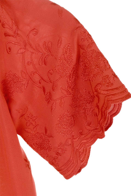 ANGIEのFloralEmbroideredKidsDress花柄刺繍・子供用ワンピース/ANGIE(アンジー)のワンピースやミニワンピース。大人用顔負けの刺繍をあしらったキッズワンピース。単色のワンピースのようですが、ツヤ感のある糸で刺繍されているので上品な高級感があります、首回りなすべてゴムなので、オフショルダーとして着ればちょっとだけお姉さんになれるワンピースです透け感 : ★☆☆☆☆ (?)★☆☆☆☆>さほど気になりません★★☆☆☆>光の具合で少し透けます★★★☆☆>気になる方はインナーを★★★★☆>インナー着用をおすすめ★★★★★>インナーが必要です素材レーヨン 100%サイズ首回り身幅袖丈着丈S22-44381855M25-41411956L28-43452058XL31-45482260※ トルソー着用画像はMサイズです。/main-8