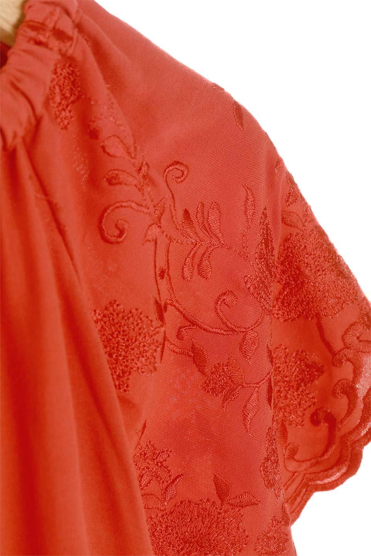 ANGIEのFloralEmbroideredKidsDress花柄刺繍・子供用ワンピース/ANGIE(アンジー)のワンピースやミニワンピース。大人用顔負けの刺繍をあしらったキッズワンピース。単色のワンピースのようですが、ツヤ感のある糸で刺繍されているので上品な高級感があります、首回りなすべてゴムなので、オフショルダーとして着ればちょっとだけお姉さんになれるワンピースです透け感 : ★☆☆☆☆ (?)★☆☆☆☆>さほど気になりません★★☆☆☆>光の具合で少し透けます★★★☆☆>気になる方はインナーを★★★★☆>インナー着用をおすすめ★★★★★>インナーが必要です素材レーヨン 100%サイズ首回り身幅袖丈着丈S22-44381855M25-41411956L28-43452058XL31-45482260※ トルソー着用画像はMサイズです。/main-9