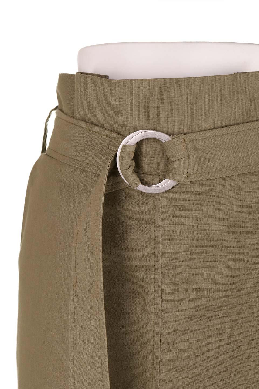 RingBeltCanvasSkirtリングベルト付キャンバススカート大人カジュアルに最適な海外ファッションのothers(その他インポートアイテム)のボトムやスカート。リングベルトが付属したキャンバス地のスカート。足長効果抜群のハイウエストタイプ。/main-15
