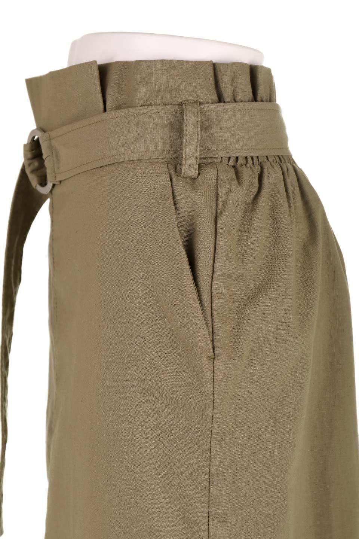RingBeltCanvasSkirtリングベルト付キャンバススカート大人カジュアルに最適な海外ファッションのothers(その他インポートアイテム)のボトムやスカート。リングベルトが付属したキャンバス地のスカート。足長効果抜群のハイウエストタイプ。/main-16