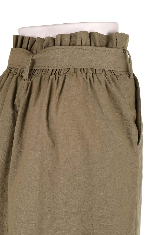 RingBeltCanvasSkirtリングベルト付キャンバススカート大人カジュアルに最適な海外ファッションのothers(その他インポートアイテム)のボトムやスカート。リングベルトが付属したキャンバス地のスカート。足長効果抜群のハイウエストタイプ。/main-17