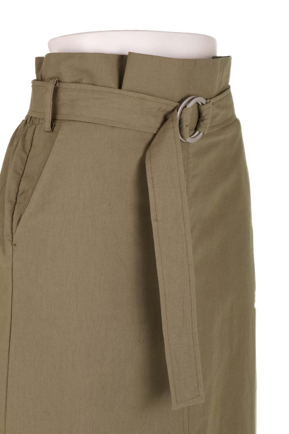 RingBeltCanvasSkirtリングベルト付キャンバススカート大人カジュアルに最適な海外ファッションのothers(その他インポートアイテム)のボトムやスカート。リングベルトが付属したキャンバス地のスカート。足長効果抜群のハイウエストタイプ。/main-19