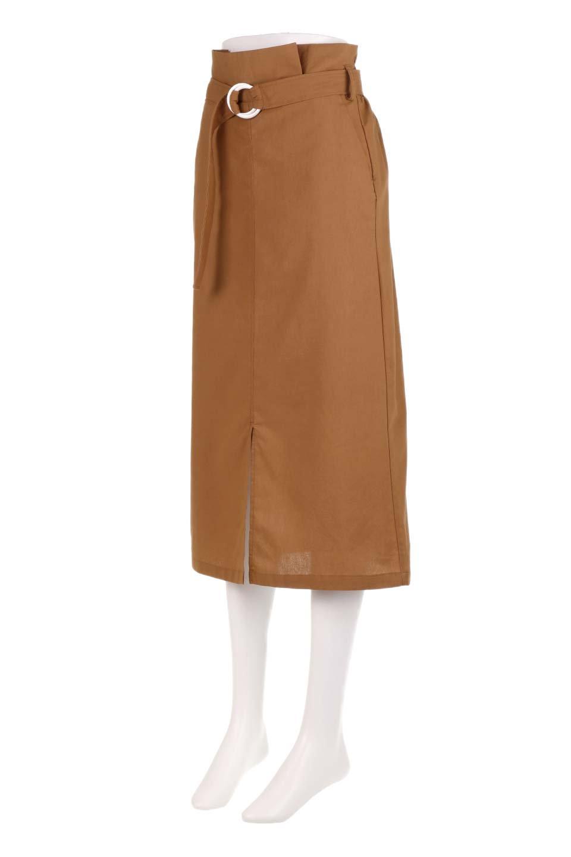RingBeltCanvasSkirtリングベルト付キャンバススカート大人カジュアルに最適な海外ファッションのothers(その他インポートアイテム)のボトムやスカート。リングベルトが付属したキャンバス地のスカート。足長効果抜群のハイウエストタイプ。/main-6