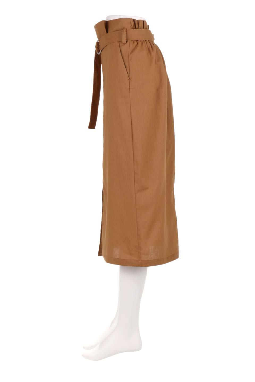 RingBeltCanvasSkirtリングベルト付キャンバススカート大人カジュアルに最適な海外ファッションのothers(その他インポートアイテム)のボトムやスカート。リングベルトが付属したキャンバス地のスカート。足長効果抜群のハイウエストタイプ。/main-7