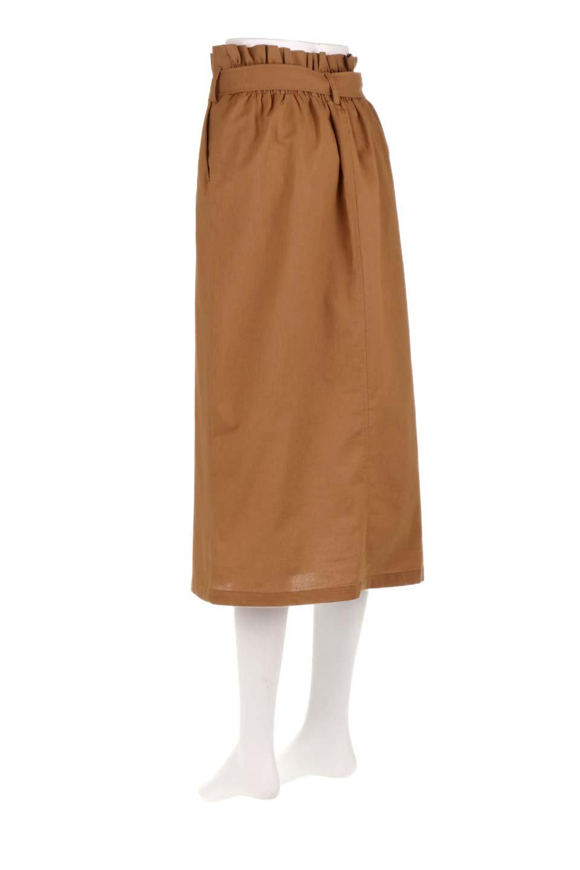 RingBeltCanvasSkirtリングベルト付キャンバススカート大人カジュアルに最適な海外ファッションのothers(その他インポートアイテム)のボトムやスカート。リングベルトが付属したキャンバス地のスカート。足長効果抜群のハイウエストタイプ。/main-8