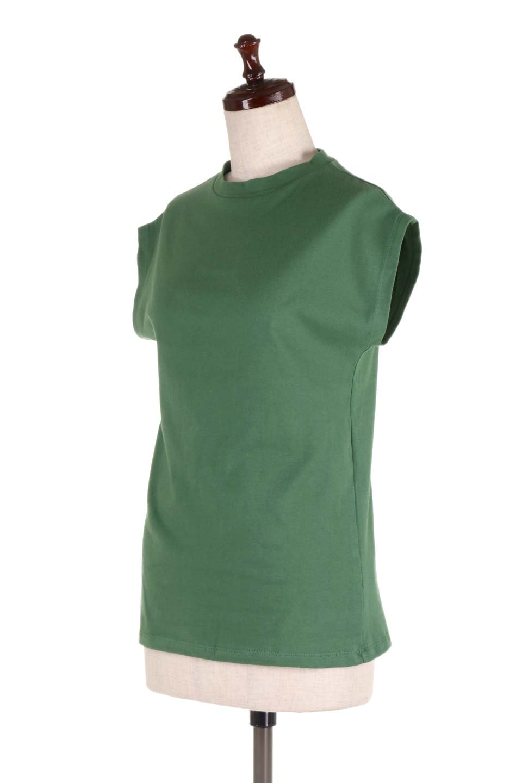 FlenchSleeveT-shirtsフレンチスリーブ・シンプルTシャツ大人カジュアルに最適な海外ファッションのothers(その他インポートアイテム)のトップスやTシャツ。1枚は持っていたいシンプルデザインのフレンチスリーブTシャツ。半袖でもなくノースリーブでもない、ちょっとオシャレに見えるフレンチスリーブ。/main-11
