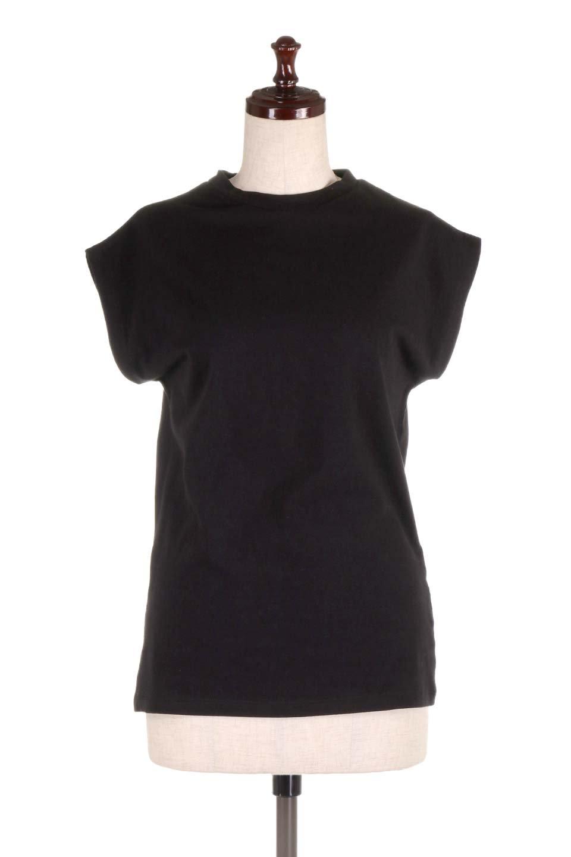 FlenchSleeveT-shirtsフレンチスリーブ・シンプルTシャツ大人カジュアルに最適な海外ファッションのothers(その他インポートアイテム)のトップスやTシャツ。1枚は持っていたいシンプルデザインのフレンチスリーブTシャツ。半袖でもなくノースリーブでもない、ちょっとオシャレに見えるフレンチスリーブ。/main-20