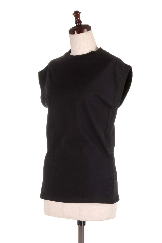 FlenchSleeveT-shirtsフレンチスリーブ・シンプルTシャツ大人カジュアルに最適な海外ファッションのothers(その他インポートアイテム)のトップスやTシャツ。1枚は持っていたいシンプルデザインのフレンチスリーブTシャツ。半袖でもなくノースリーブでもない、ちょっとオシャレに見えるフレンチスリーブ。/main-21