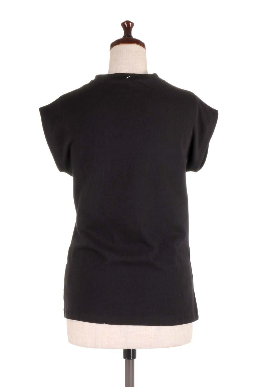 FlenchSleeveT-shirtsフレンチスリーブ・シンプルTシャツ大人カジュアルに最適な海外ファッションのothers(その他インポートアイテム)のトップスやTシャツ。1枚は持っていたいシンプルデザインのフレンチスリーブTシャツ。半袖でもなくノースリーブでもない、ちょっとオシャレに見えるフレンチスリーブ。/main-24