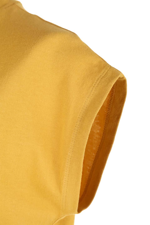 FlenchSleeveT-shirtsフレンチスリーブ・シンプルTシャツ大人カジュアルに最適な海外ファッションのothers(その他インポートアイテム)のトップスやTシャツ。1枚は持っていたいシンプルデザインのフレンチスリーブTシャツ。半袖でもなくノースリーブでもない、ちょっとオシャレに見えるフレンチスリーブ。/main-29