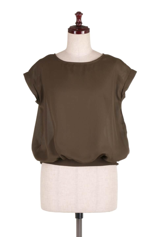 SleevelessOpenBackBlouseノースリーブ・オープンバックブラウス大人カジュアルに最適な海外ファッションのothers(その他インポートアイテム)のトップスやシャツ・ブラウス。背中が開いたオープンバックスタイルのノースリーブブラウス。透け感のある涼しげで大人ぽいアイテムです。/main-10