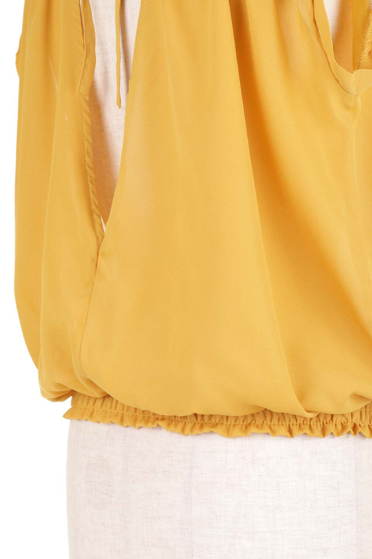 SleevelessOpenBackBlouseノースリーブ・オープンバックブラウス大人カジュアルに最適な海外ファッションのothers(その他インポートアイテム)のトップスやシャツ・ブラウス。背中が開いたオープンバックスタイルのノースリーブブラウス。透け感のある涼しげで大人ぽいアイテムです。/main-26