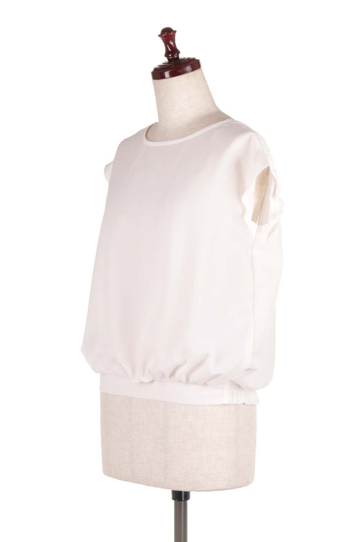 SleevelessOpenBackBlouseノースリーブ・オープンバックブラウス大人カジュアルに最適な海外ファッションのothers(その他インポートアイテム)のトップスやシャツ・ブラウス。背中が開いたオープンバックスタイルのノースリーブブラウス。透け感のある涼しげで大人ぽいアイテムです。/main-6