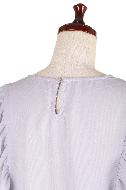 PipingDetailFrilledBlouseパイピング・フリルブラウス大人カジュアルに最適な海外ファッションのothers(その他インポートアイテム)のトップスやシャツ・ブラウス。ダブルジョーゼットの生地を使用したボリュームフリルのノースリーブブラウス。着心地の良いソフトア肌触りとフリルについたパイピングがポイントのブラウス。/main-13