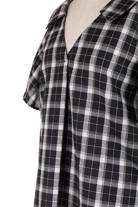 BackRibbonSkipperBlouseバックリボン・スキッパーブラウス大人カジュアルに最適な海外ファッションのothers(その他インポートアイテム)のトップスやシャツ・ブラウス。ゆったり目のシルエットで風通しの良いスキッパーブラウス。太めの袖と背中のリボンがポイントのカジュアルアイテムです。/main-13