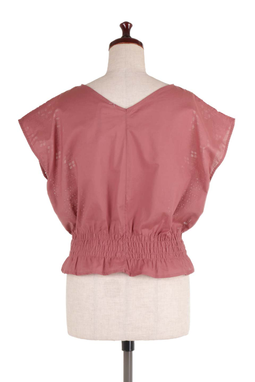 EyeletlaceBlouseアイレットレースブラウス大人カジュアルに最適な海外ファッションのothers(その他インポートアイテム)のトップスやシャツ・ブラウス。アイレットレースでデザインしたノースリーブブラウス。Vゾーンから広がるアイレットレースが可愛いアイテムです。/main-14