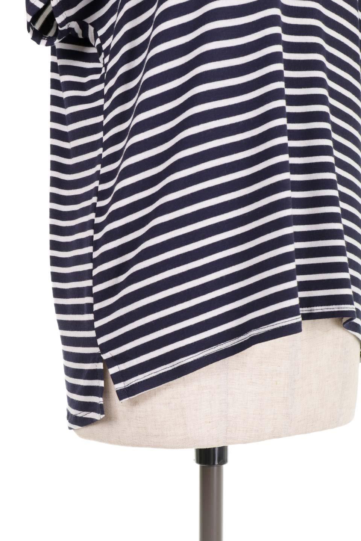 L.A.直輸入のClassicDolmanStrechStripeTeeドルマンスリーブ・VネックボーダーTシャツ大人カジュアルに最適な海外ファッションのothers(その他インポートアイテム)のトップスやTシャツ。定番シルエットでしかもストレッチの効いたリラックスボーダーTee。大人気の無地Teeのボーダーバージョンです。/main-14