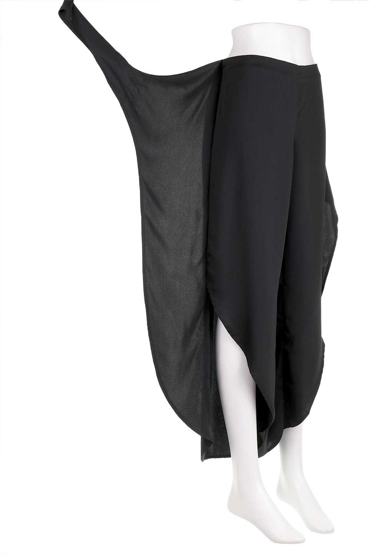 LOVESTITCHのHartleyPantチューリップレッグパンツ/海外ファッションが好きな大人カジュアルのためのLOVESTITCH(ラブステッチ)のボトムやパンツ。巻きスカートの様なディテールが可愛いチューリップレッグのパンツ。夏でも暑苦しくないヒラヒラがポイントのパンツです。/main-12