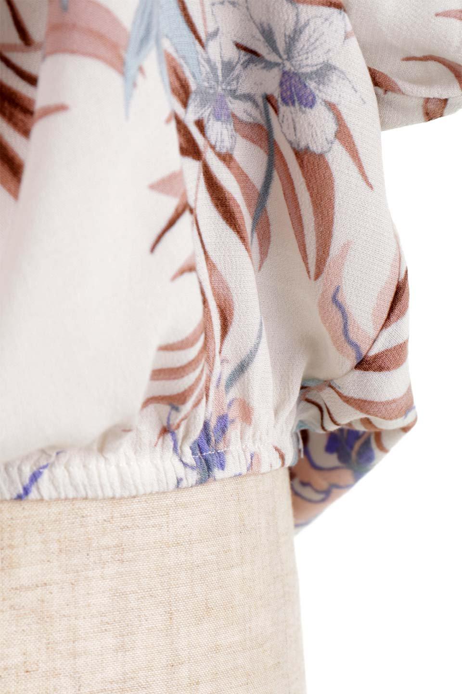 LOVESTITCHのNemaTopボタニカルプリント・ドルマンブラウス/海外ファッションが好きな大人カジュアルのためのLOVESTITCH(ラブステッチ)のトップスやシャツ・ブラウス。優しい配色のボタニカルプリントが涼しげなドルマンスリーブの半袖ブラウス。とにかく重宝するラブステッチのブラウス。/main-21