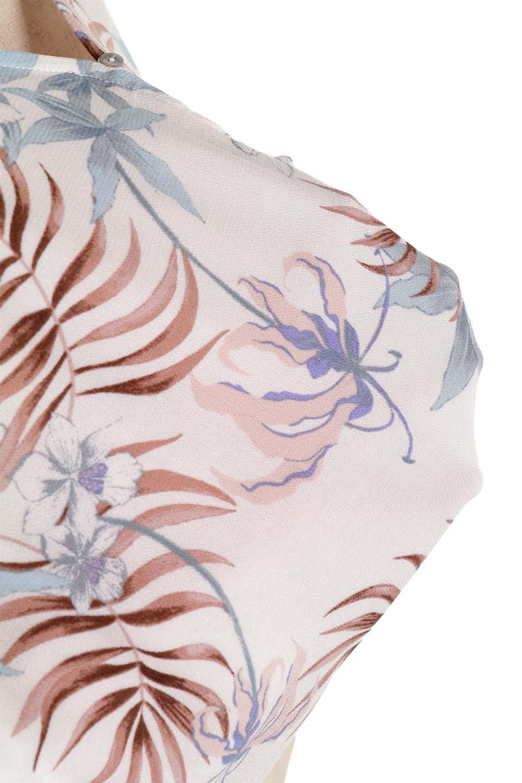 LOVESTITCHのNemaTopボタニカルプリント・ドルマンブラウス/海外ファッションが好きな大人カジュアルのためのLOVESTITCH(ラブステッチ)のトップスやシャツ・ブラウス。優しい配色のボタニカルプリントが涼しげなドルマンスリーブの半袖ブラウス。とにかく重宝するラブステッチのブラウス。/main-24