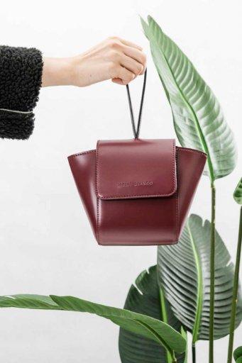 海外ファッションや大人カジュアルのためのインポートバッグ、かばんmelie bianco(メリービアンコ)のAdele (Burgundy)