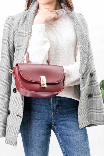 海外ファッションや大人カジュアルのためのインポートバッグ、かばんmelie bianco(メリービアンコ)のAlba (Burgundy)