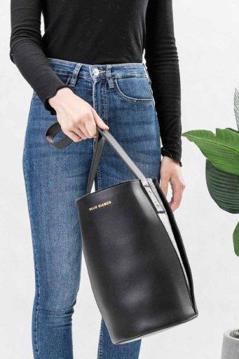 海外ファッションや大人カジュアルのためのインポートバッグ、かばんmelie bianco(メリービアンコ)のLuna (Black)